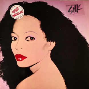 Diana Ross ‎- Silk Electric (LP) (VG-/VG-)